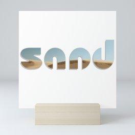 Sand Mini Art Print