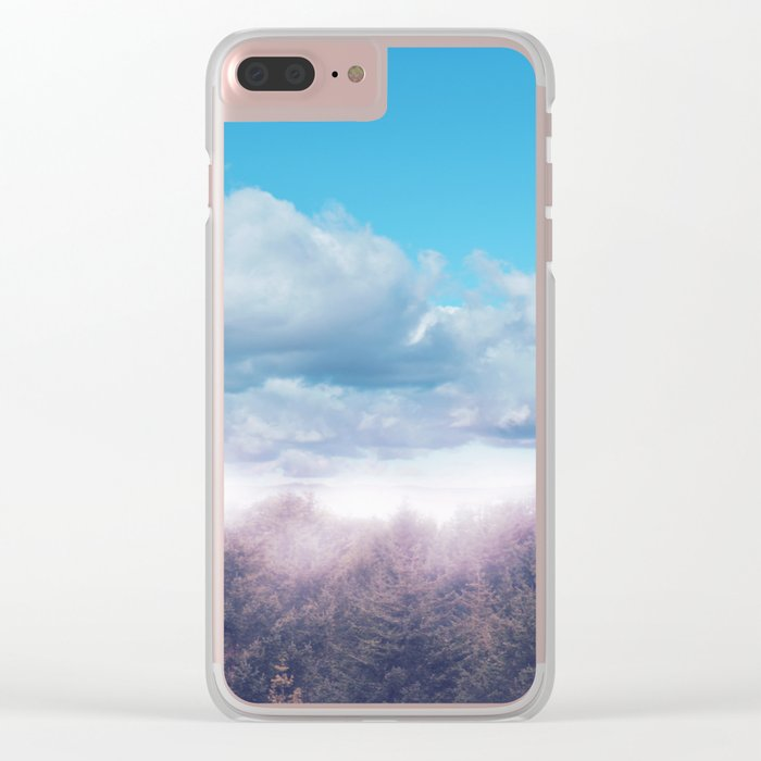 Pastel vibes 43 Clear iPhone Case