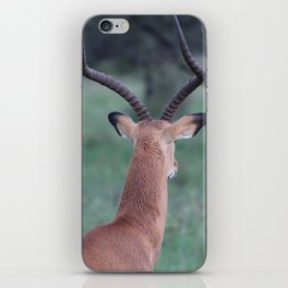 Impala whorl iPhone Skin