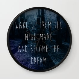 Nightmare Wall Clock