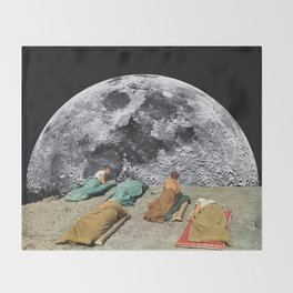 CAMPGROUND Throw Blanket