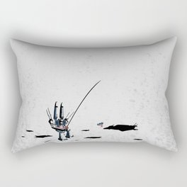 Super Downtime Fortress Rectangular Pillow