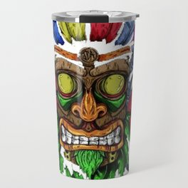 Face in Colors Travel Mug