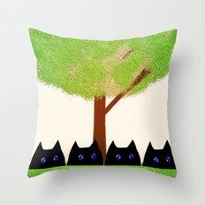 cat-186 Throw Pillow