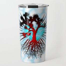 Joshua Tree Heart Light by CREYES Travel Mug