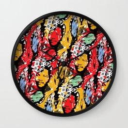 AFRICA / MANDELA no 2 Wall Clock