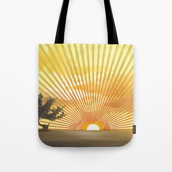 Marylin Sunset Tote Bag
