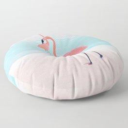 Pair of Flamingos Floor Pillow