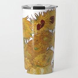 Sunflowers of Van Gogh Travel Mug
