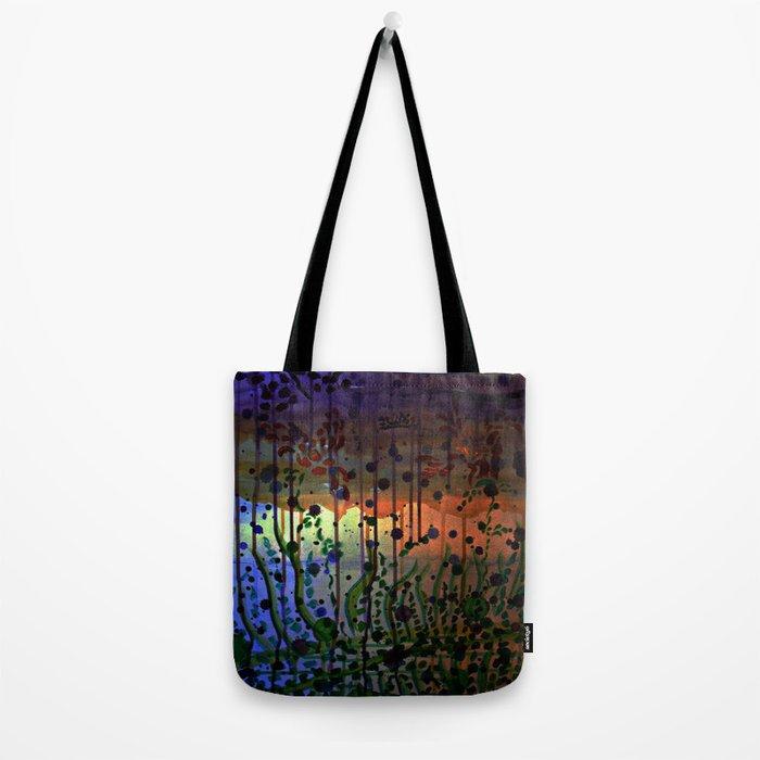 Underwater Sunray Tote Bag