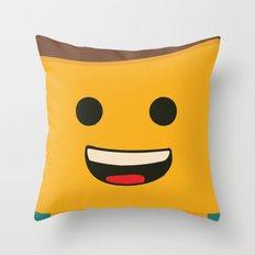 LEGO - Emmet  Throw Pillow