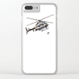 Troopers Bell 407 Clear iPhone Case