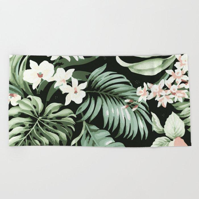 Jungle blush Beach Towel