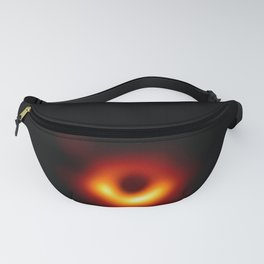 black hole: the first picture. Fanny Pack