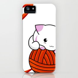 Love Cat iPhone Case
