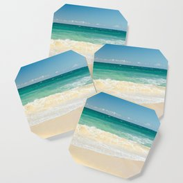 beach blue Coaster