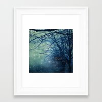 silent Framed Art Prints featuring Silent Night  by Laura Ruth