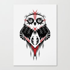 American Indian owl Canvas Print
