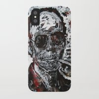 hunter s thompson iPhone & iPod Cases featuring Hunter S Thompson by Matt Pecson