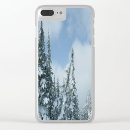 Winter day 15 Clear iPhone Case