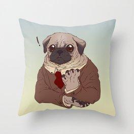 Concerned citizen Throw Pillow