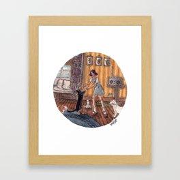 Dance Partner Framed Art Print