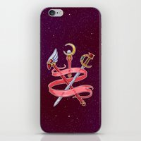utena iPhone & iPod Skins featuring Fight Like a Magical Girl by Unbearable Bear