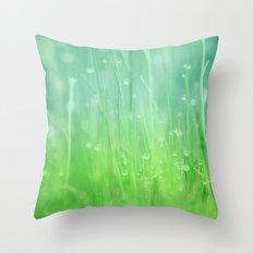 Magic Happens Here Throw Pillow