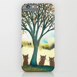 Lazio Whimsical Cats iPhone Case