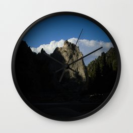 late afternoon Wall Clock