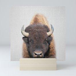 Buffalo - Colorful Mini Art Print