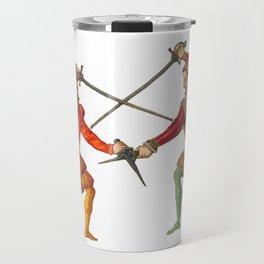 A Gentlemen's Duel Travel Mug