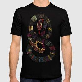 geo snakes T-shirt