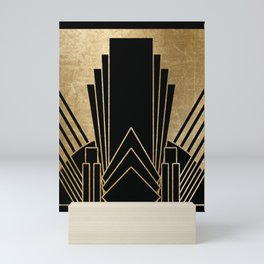 Art deco design Mini Art Print