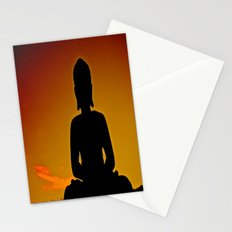 In Buddha's Shadow Stationery Cards