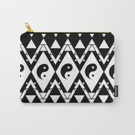 Prismatic Yin & Yang Carry-All Pouch