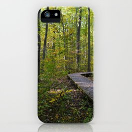 Maidstone conservation area in southern Ontario iPhone Case