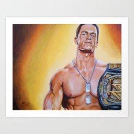 The Champ Art Print