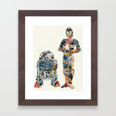 modern wars 1 Framed Art Print