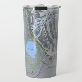 Anthony Lakes Resort Trail Map Travel Mug