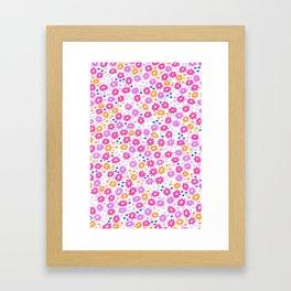 Field Flowers  Framed Art Print