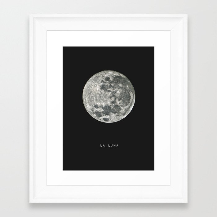 La Luna Framed Art Print