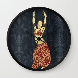 Belly dancer 17 Wall Clock