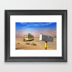 Trailer Heaven Framed Art Print