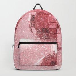 Pink Christmas Ball Backpack