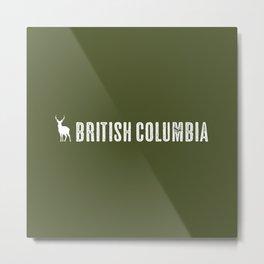 Deer: British Columbia, Canada Metal Print