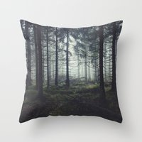 marina and the diamonds Throw Pillows featuring Through The Trees by Tordis Kayma