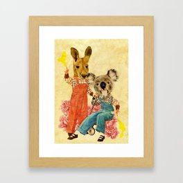 Australia Icon: The Nation Framed Art Print