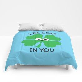 Cloverwhelming Support Comforters