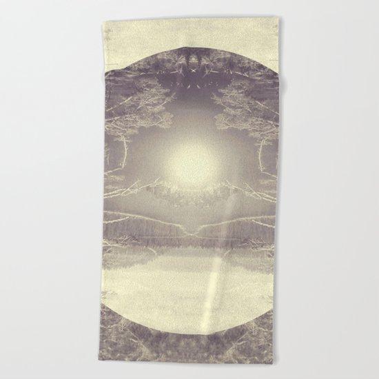 Heart of the Wild Beach Towel